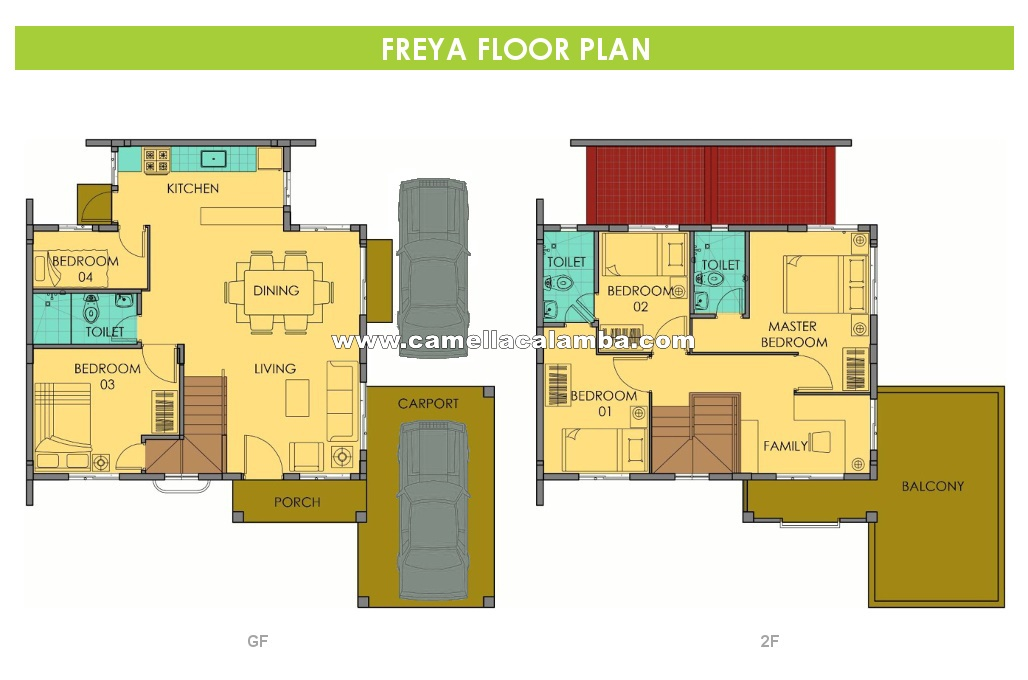 Freya  House for Sale in Calamba