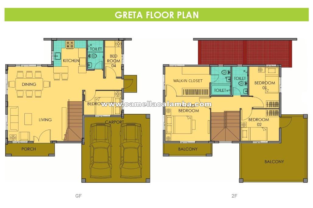 Greta  House for Sale in Calamba