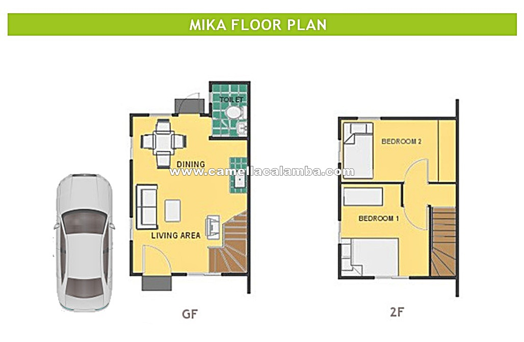 Mika House For Sale In Calamba City Camella Calamba