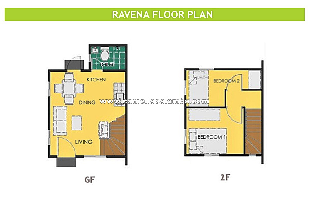 Ravena  House for Sale in Calamba