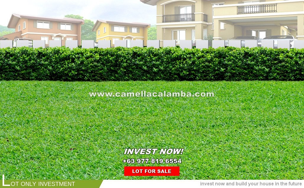 Lot House for Sale in Calamba
