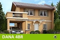 Dana House and Lot for Sale in Calamba Philippines
