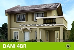 Dani House and Lot for Sale in Calamba Philippines