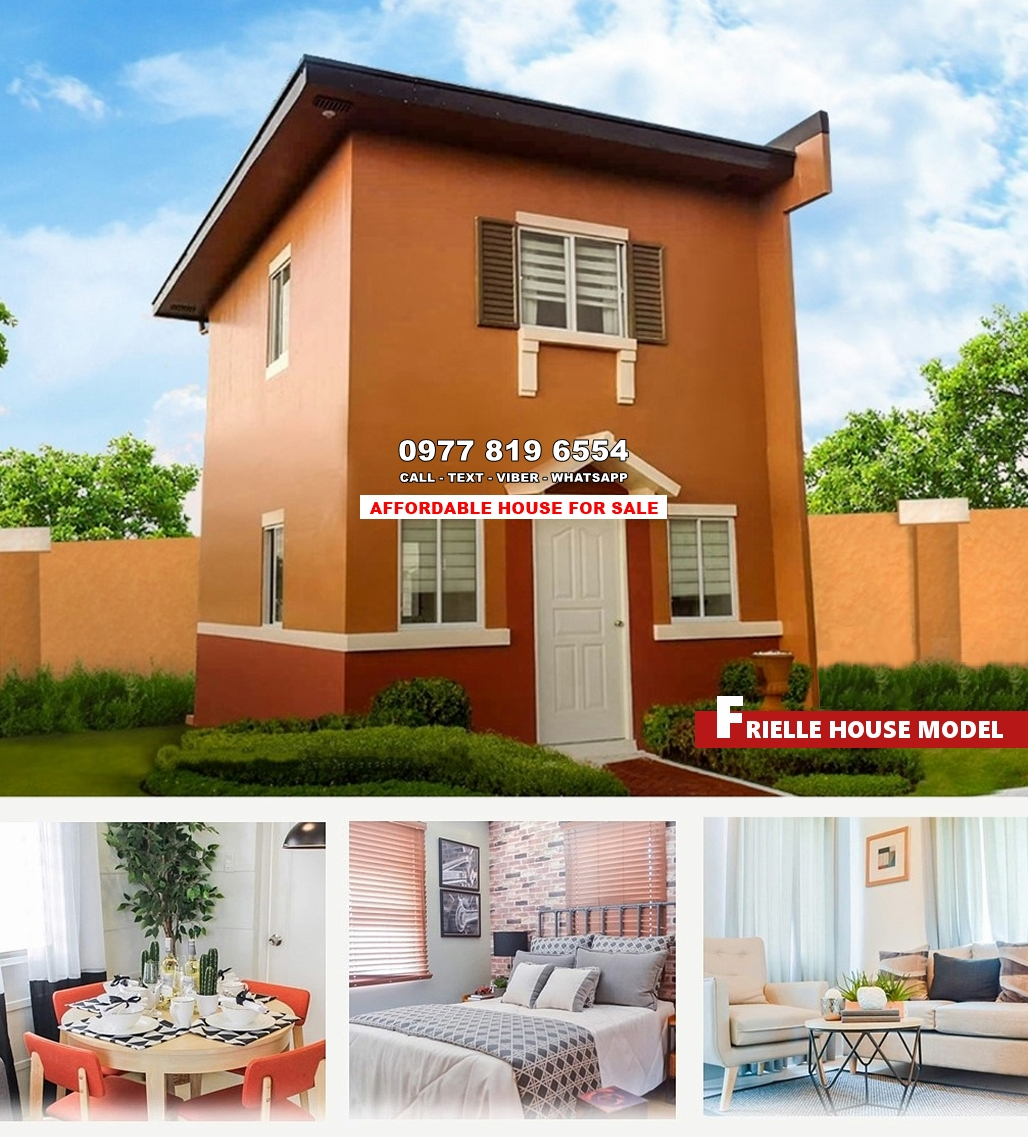Frielle House for Sale in Calamba