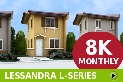 Lessandra Affordable Houses in  Camella Calamba